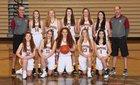 Capital Cougars Girls JV Basketball Winter 16-17 team photo.
