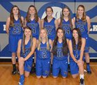 North Wilkes Vikings Girls JV Basketball Winter 16-17 team photo.