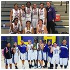 Lemoore Tigers Girls JV Basketball Winter 16-17 team photo.