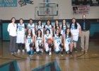 Del Norte Knights Girls JV Basketball Winter 16-17 team photo.