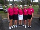North Davidson Knights Girls Varsity Golf Fall 17-18 team photo.