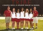 Chowchilla Tribe Girls Varsity Golf Fall 17-18 team photo.