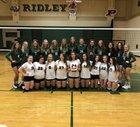 Ridley Raiders Girls Varsity Volleyball Fall 18-19 team photo.