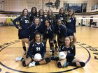 Clovis Christian Eagles Girls Varsity Volleyball Fall 18-19 team photo.