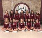 New Holstein Huskies Girls Varsity Volleyball Fall 18-19 team photo.