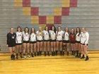 Star Valley Braves Girls Varsity Volleyball Fall 18-19 team photo.