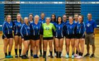 Cuba-Rushford Rebels Girls Varsity Volleyball Fall 18-19 team photo.