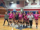 Croatan Cougars Girls Varsity Volleyball Fall 18-19 team photo.