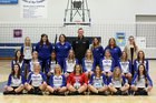 Garrison/Max Troopers Girls Varsity Volleyball Fall 18-19 team photo.