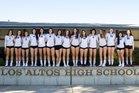 Los Altos Eagles Girls Varsity Volleyball Fall 18-19 team photo.