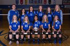 Chillicothe Cavaliers Girls Varsity Volleyball Fall 18-19 team photo.