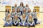 Hay Springs Hawks Girls Varsity Volleyball Fall 18-19 team photo.