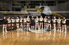 Olympian Eagles Girls Varsity Volleyball Fall 18-19 team photo.