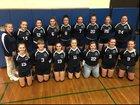 Bainbridge-Guilford Bobcats Girls Varsity Volleyball Fall 18-19 team photo.