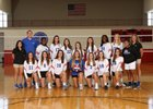 Jefferson Dragons Girls Varsity Volleyball Fall 18-19 team photo.
