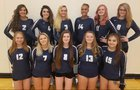 Silver Stage Nighthawks Girls Varsity Volleyball Fall 18-19 team photo.