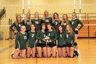 Nardin Academy Gators Girls Varsity Volleyball Fall 18-19 team photo.