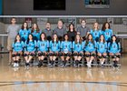 Cleveland Storm Girls Varsity Volleyball Fall 18-19 team photo.