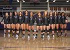 Durango Trailblazers Girls Varsity Volleyball Fall 18-19 team photo.