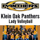 Klein Oak Panthers Girls Varsity Volleyball Fall 18-19 team photo.