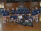 Washington & Lee Eagles Girls Varsity Volleyball Fall 18-19 team photo.