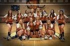 Mead Maverick Girls Varsity Volleyball Fall 18-19 team photo.