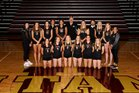 University Titans Girls Varsity Volleyball Fall 18-19 team photo.