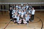 Dover Pirates Girls Varsity Volleyball Fall 18-19 team photo.