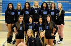 Polk County Wolverines Girls Varsity Volleyball Fall 18-19 team photo.