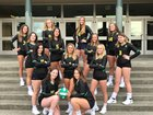 Bishop Blanchet Braves Girls Varsity Volleyball Fall 18-19 team photo.