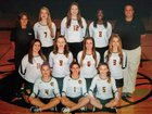 Triad Baptist Christian Academy Titans Girls Varsity Volleyball Fall 18-19 team photo.