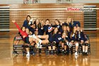 Bedford North Lawrence Stars Girls Varsity Volleyball Fall 18-19 team photo.