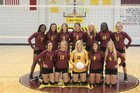 New Boston Lions Girls Varsity Volleyball Fall 18-19 team photo.