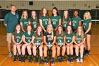 Vestal Golden Bears Girls Varsity Volleyball Fall 18-19 team photo.