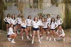 Cathedral Fighting Irish Girls Varsity Volleyball Fall 18-19 team photo.