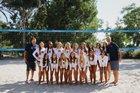 Trabuco Hills Mustangs Girls Varsity Volleyball Fall 18-19 team photo.