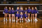 Columbia River Chieftains Girls Varsity Volleyball Fall 18-19 team photo.