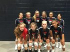 Providence Christian Academy Storm Girls Varsity Volleyball Fall 18-19 team photo.