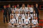 Corona del Sol Aztecs Girls Varsity Volleyball Fall 18-19 team photo.