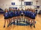 Hiwassee Dam Eagles Girls Varsity Volleyball Fall 18-19 team photo.