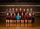 New Richmond Tigers Girls Varsity Volleyball Fall 18-19 team photo.
