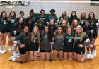 Lake Cormorant  Girls Varsity Volleyball Fall 18-19 team photo.