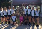 Animas Panthers Girls Varsity Volleyball Fall 18-19 team photo.