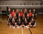 Allendale Falcons Girls Varsity Volleyball Fall 18-19 team photo.