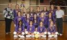 Farmersville Farmers Girls Varsity Volleyball Fall 18-19 team photo.