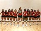 New Albany Bulldogs Girls Varsity Volleyball Fall 18-19 team photo.