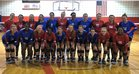 Palestine-Wheatley Patriots Girls Varsity Volleyball Fall 18-19 team photo.