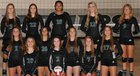Pelham Panthers Girls Varsity Volleyball Fall 18-19 team photo.