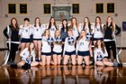 Naselle Comets Girls Varsity Volleyball Fall 18-19 team photo.