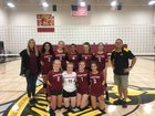 North Phoenix Preparatory Academy Gladiators Girls Varsity Volleyball Fall 18-19 team photo.